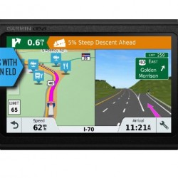 """Garmin - dēzl 780LMT-S 7"""" Trucking GPS with Bluetooth and Lifetime Map and Traffic Updates - Black"""