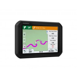"Garmin - dēzl 780LMT-S 7"" Trucking GPS with Bluetooth and Lifetime Map and Traffic Updates - Black"
