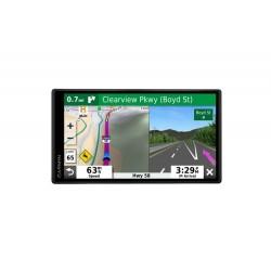 "Garmin - DriveSmart 55 & Traffic - 5.5"" GPS with Built-In Bluetooth - Black"