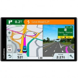 "Garmin - DriveSmart 61 LMT-S 6.95"" GPS with Built-In Bluetooth - Black"