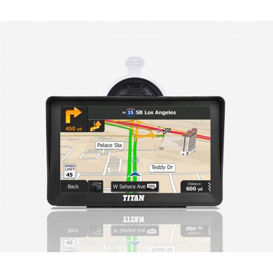 "7"" Titan Truck Gps with Pixel Perfect Display"