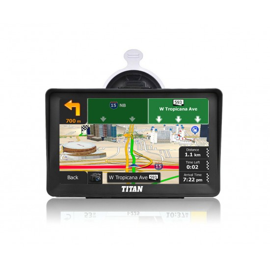 Titan Road Master Truck GPS with Pixel Perfect Display