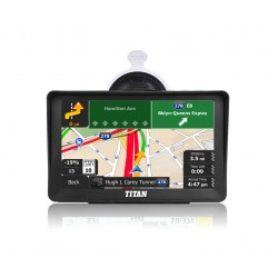 "7"" Titan God Hunter Truck Gps Navigator Model 2020"