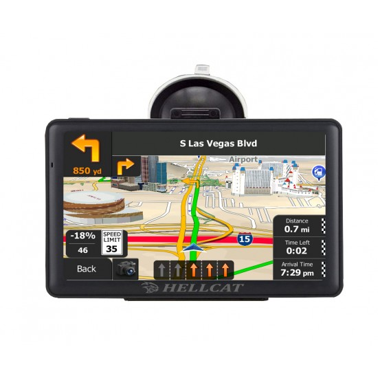 "7"" Hellcat Heavy Truck Navigator Model 2020 Refurb"